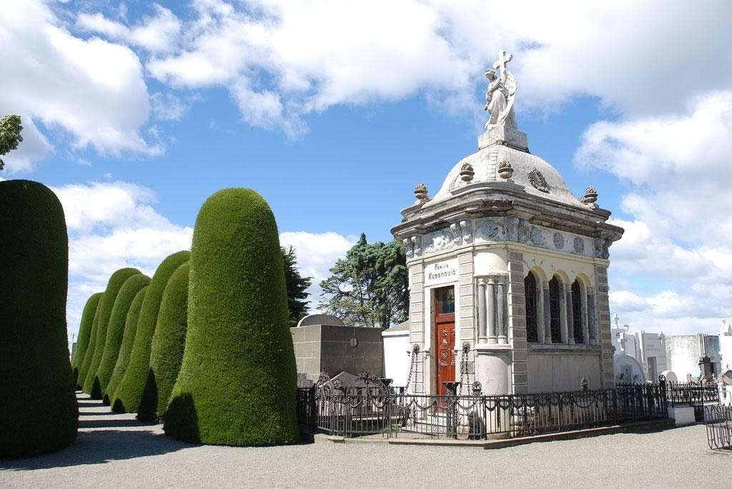 Cementerio Municipal en Punta Arenas, Chile